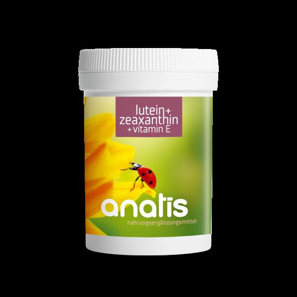 Lutein + Zeaxanthin + Vitamin E 90 Kps