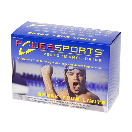 POWERSPORTS® Performance-Drink 30 Sachets