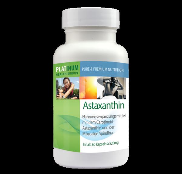 Astaxanthin 60 Kapseln