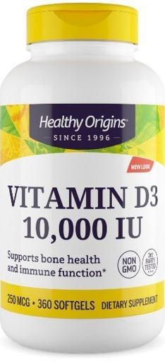 Vitamin D3 10.000 IU - 360 Softgels