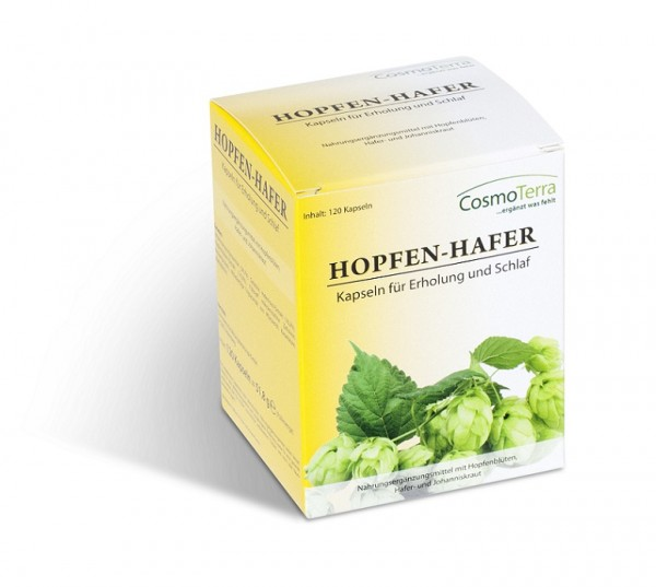 Hopfen-Hafer Plus 120 Kps