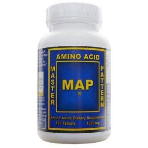 MAP (Essentielle Aminosäuren) 120 Presslinge
