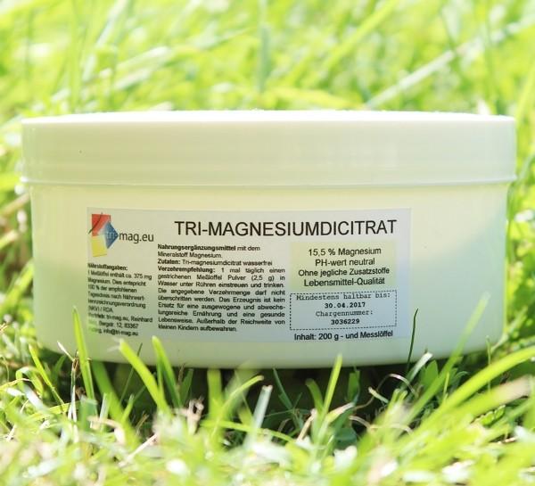 Tri-Magnesiumdicitrat 200 g